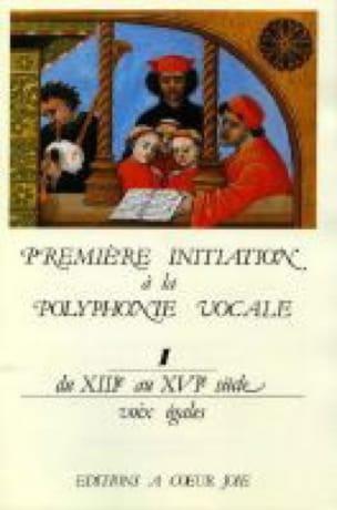 Première Initiation A la Polyphonie Vocale 1 - laflutedepan.com