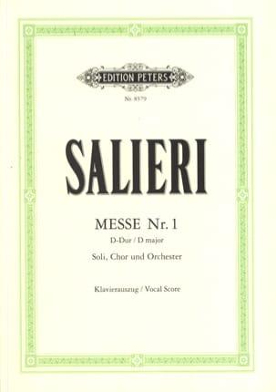 Messe N°1 En Ré Majeur SALIERI Partition Chœur - laflutedepan