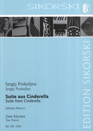 Suite de Cendrillon. 2 Pianos PROKOFIEV Partition Piano - laflutedepan