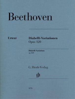 Ludwig van Beethoven - Variations Diabelli C major Opus 120 - Partition - di-arezzo.com