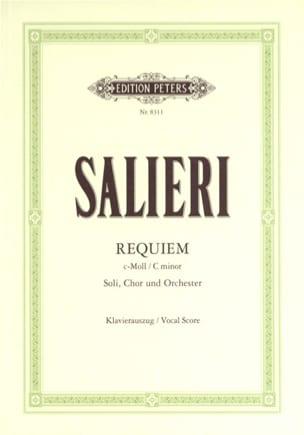 Requiem En Ut Mineur SALIERI Partition Chœur - laflutedepan