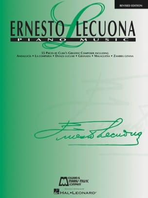 Piano Music Ernesto Lecuona Partition Piano - laflutedepan