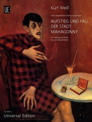 Kurt Weill - Aufstieg und Fall Der Stadt Mahagonny. Selection - Partition - di-arezzo.com