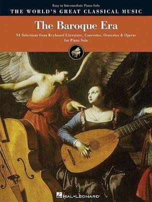 The Baroque Era. Niveau Facile Partition Piano - laflutedepan