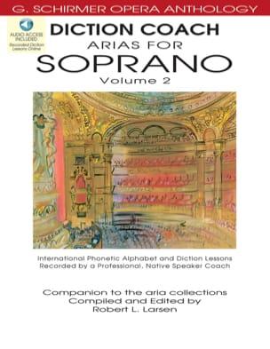 Diction Coach Arias For Soprano Volume 2 + CD Partition laflutedepan