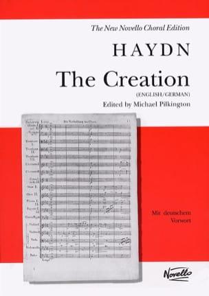 Die Schöpfung HAYDN Partition Chœur - laflutedepan