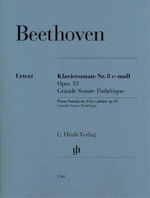 Ludwig van Beethoven - Piano Sonata No. 8 in C minor Opus 13 - Partition - di-arezzo.com
