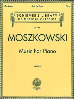 Music for Piano Moritz Moszkowski Partition Piano - laflutedepan