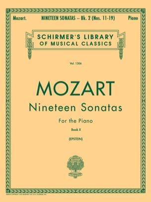 19 Sonates Volume 2 MOZART Partition Piano - laflutedepan