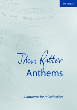 11 Anthems - RUTTER - Partition - Chœur - laflutedepan.com