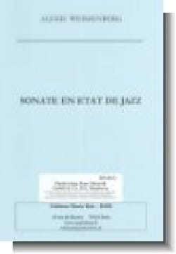 Sonate En Etat de Jazz Alexis Weissenberg Partition laflutedepan