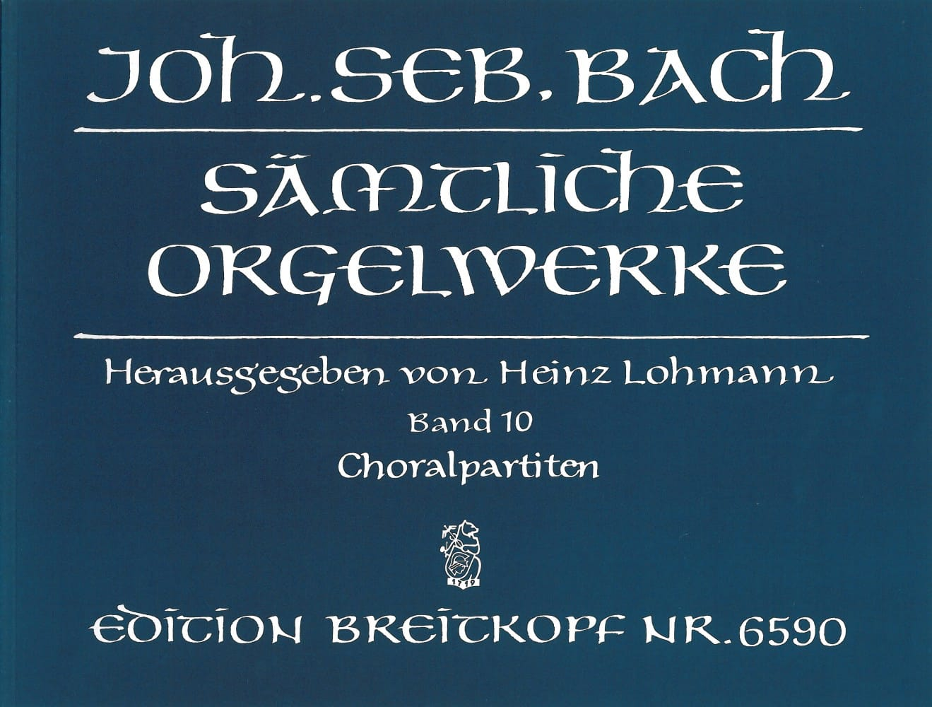 Sämtliche Orgelwerke Volume 10 - BACH - Partition - laflutedepan.com