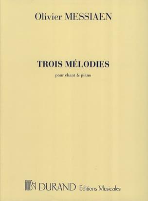 3 Mélodies MESSIAEN Partition Mélodies - laflutedepan