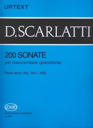 Sonates, Volume 3 SCARLATTI Partition Clavecin - laflutedepan