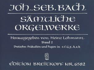 Sämtliche Orgelwerke Volume 2 BACH Partition Orgue - laflutedepan