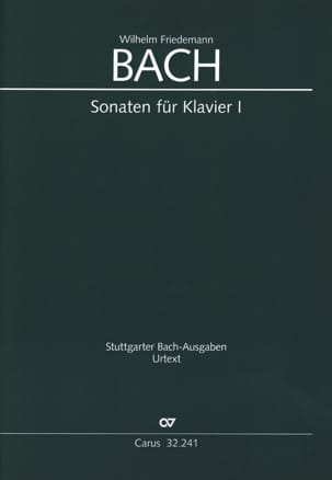 Sonates pour clavier - Volume 1 Wilhelm Friedemann Bach laflutedepan