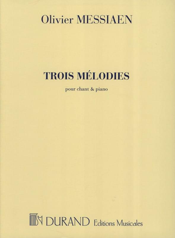 3 Mélodies - MESSIAEN - Partition - Mélodies - laflutedepan.com