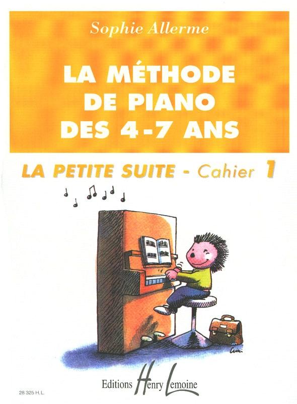 La Petite Suite Cahier 1 - La Méthode de Piano des 4-7 ans - laflutedepan.com