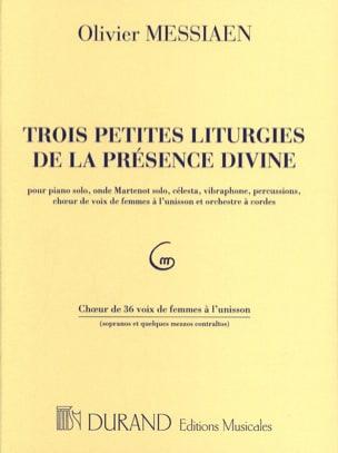 3 Petites Liturgies de la Présence divine - Choeurs laflutedepan