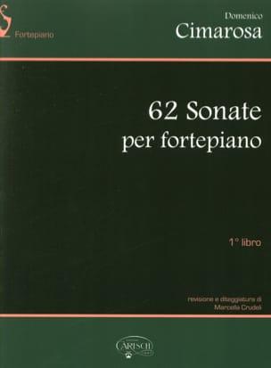 62 Sonates. Volume 1 CIMAROSA Partition Piano - laflutedepan