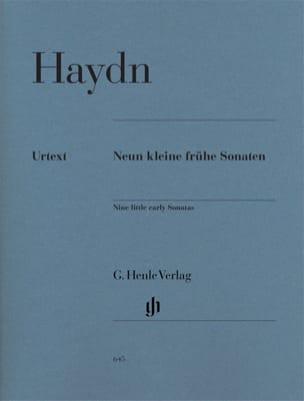 HAYDN - 9 Kleine Frühe Sonaten - Partition - di-arezzo.co.uk