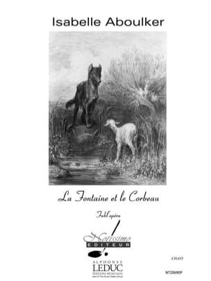 La Fontaine et le Corbeau. Choeur seul Isabelle Aboulker laflutedepan