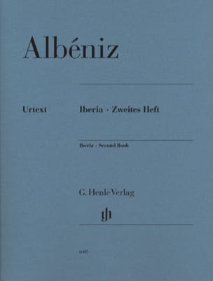 Iberia - Deuxième cahier ALBENIZ Partition Piano - laflutedepan