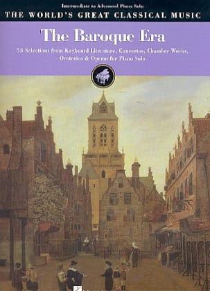 The Baroque Era. Niveau Moyen Partition Piano - laflutedepan