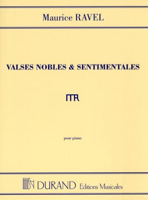 Valses Nobles et Sentimentales RAVEL Partition Piano - laflutedepan