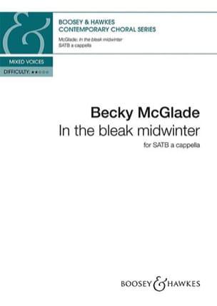 In the bleak midwinter Becky McGlade Partition Chœur - laflutedepan