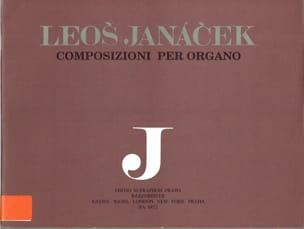 Oeuvre D'orgue Volume 2 JANACEK Partition Orgue - laflutedepan