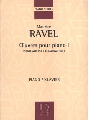 Oeuvres pour Piano Volume 1 RAVEL Partition Piano - laflutedepan