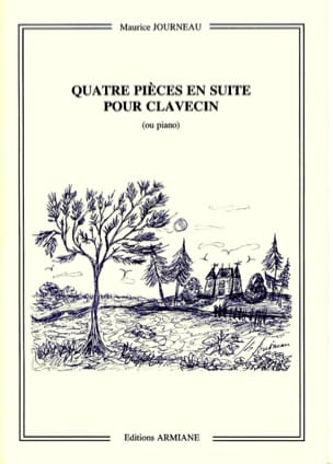 4 Pièces En Suite Op. 30 Maurice Journeau Partition laflutedepan