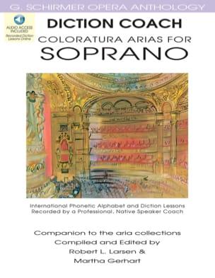 Diction Coach - Coloratura Arias For Soprano Partition laflutedepan