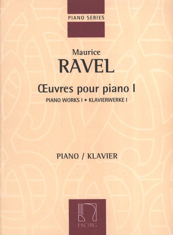 Oeuvres pour Piano Volume 1 - RAVEL - Partition - laflutedepan.com