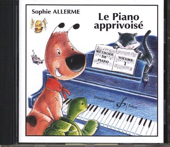 CD - Le Piano Apprivoisé Volume 1 - Sophie Allerme - laflutedepan.com