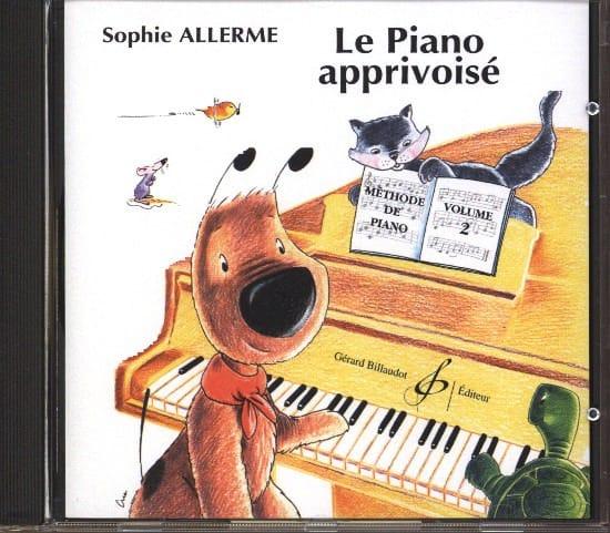 CD - Le Piano Apprivoisé Volume 2 - Sophie Allerme - laflutedepan.com