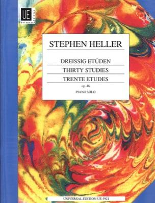 30 Etudes Opus 46 Stephen Heller Partition Piano - laflutedepan