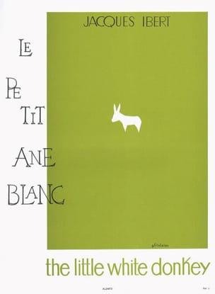 Le Petit Ane Blanc IBERT Partition Piano - laflutedepan