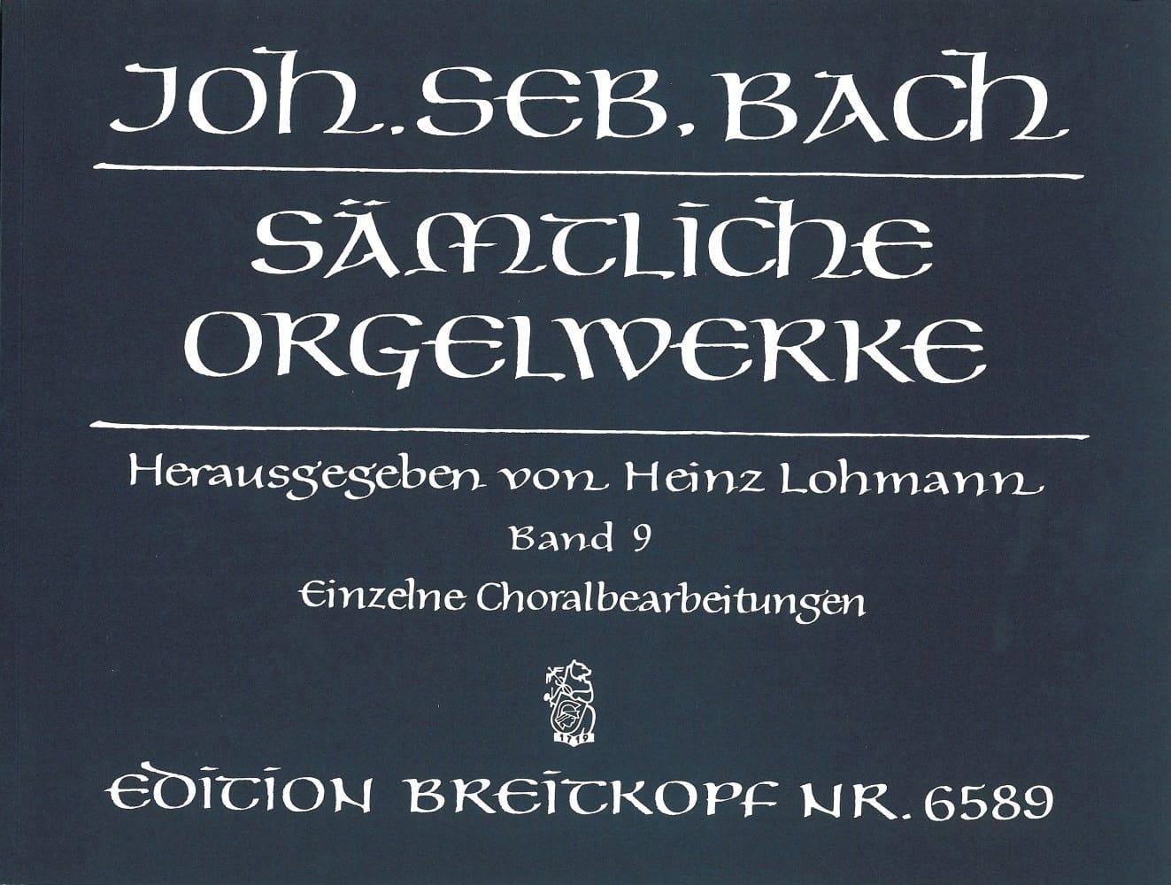 Sämtliche Orgelwerke Volume 9 - BACH - Partition - laflutedepan.com