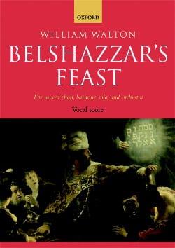 Belshazzar's Feast William Walton Partition Chœur - laflutedepan