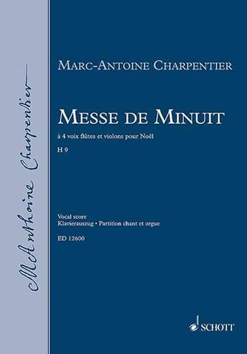 Messe de Minuit H 9 - CHARPENTIER - Partition - laflutedepan.com