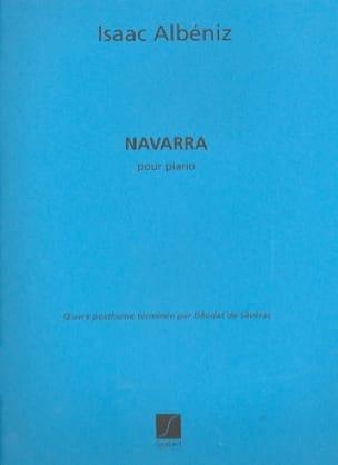 Navarra - ALBENIZ - Partition - Piano - laflutedepan.com