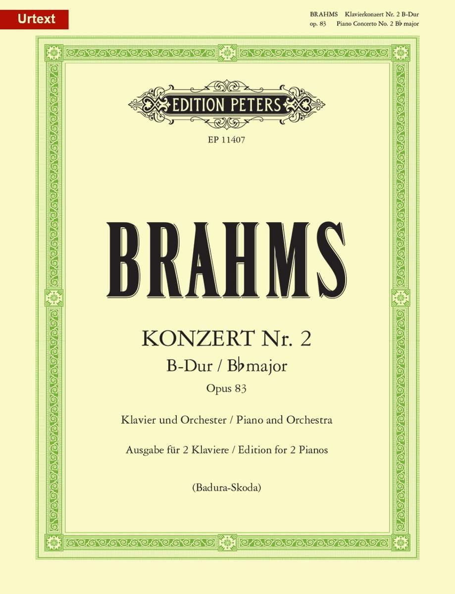 Concerto pour piano n° 2 op. 83 en si bémol majeur - laflutedepan.com