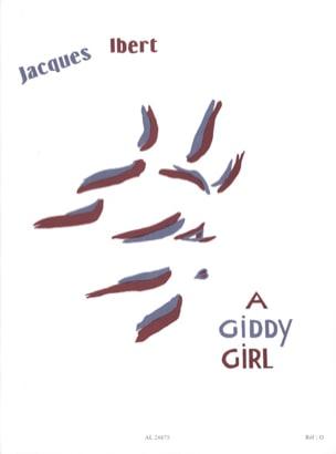 A Giddy Girl IBERT Partition Piano - laflutedepan