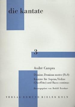 Domine, Dominus Noster Ps. 8 CAMPRA Partition Violon - laflutedepan