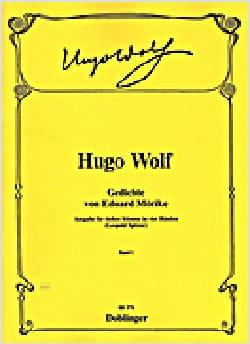 Gedichte Von Eduard Mörike Volume 1 Hugo Wolf Partition laflutedepan