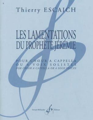 Les Lamentations Du Prophète Jérémie Thierry Escaich laflutedepan