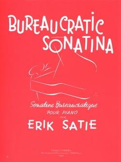 Sonatine Bureaucratique SATIE Partition Piano - laflutedepan