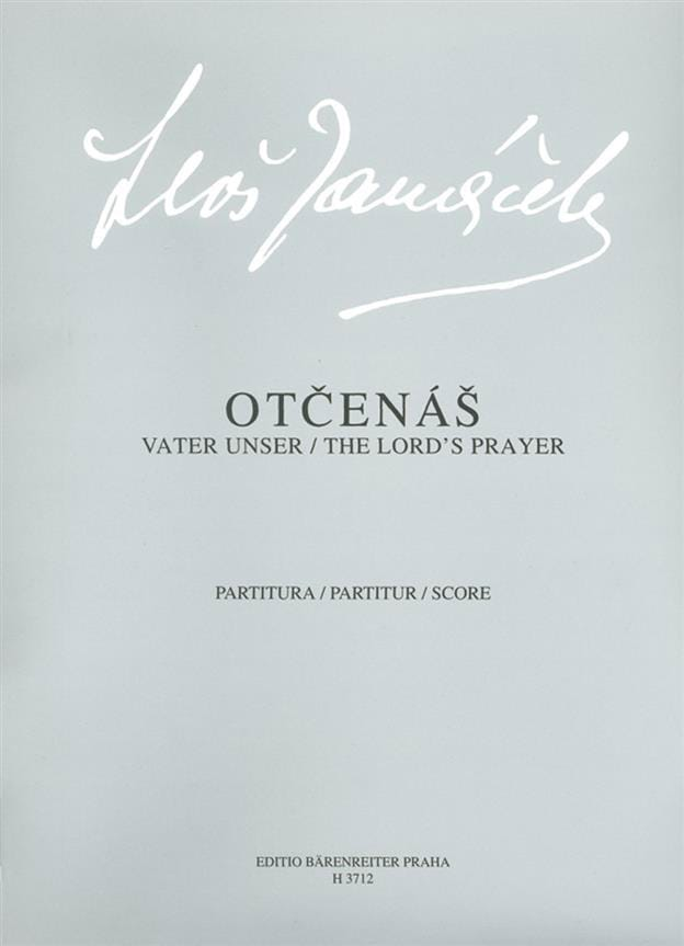 Otcenas - JANACEK - Partition - Chœur - laflutedepan.com